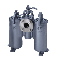 H-type DUPLEX OIL STRAINER
